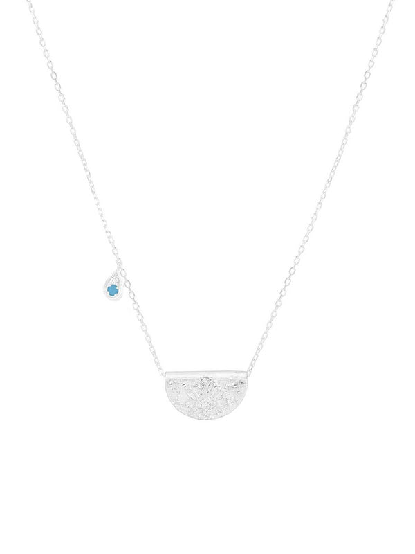 By Charlotte I Grow With Grace Necklace - Dec -  Silver I Perlu