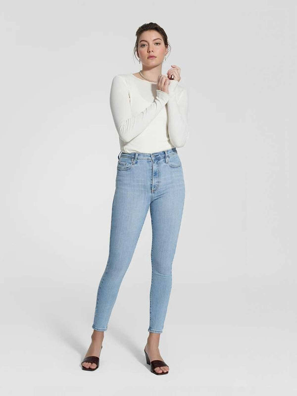 Siren Skinny Ankle - Lighter Jeans Nobody Denim