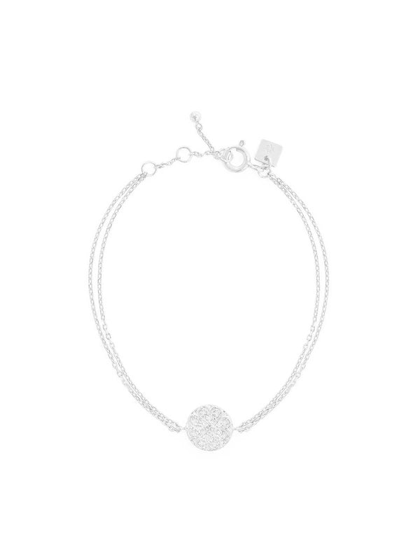 Silver Believe In Luck Bracelet
