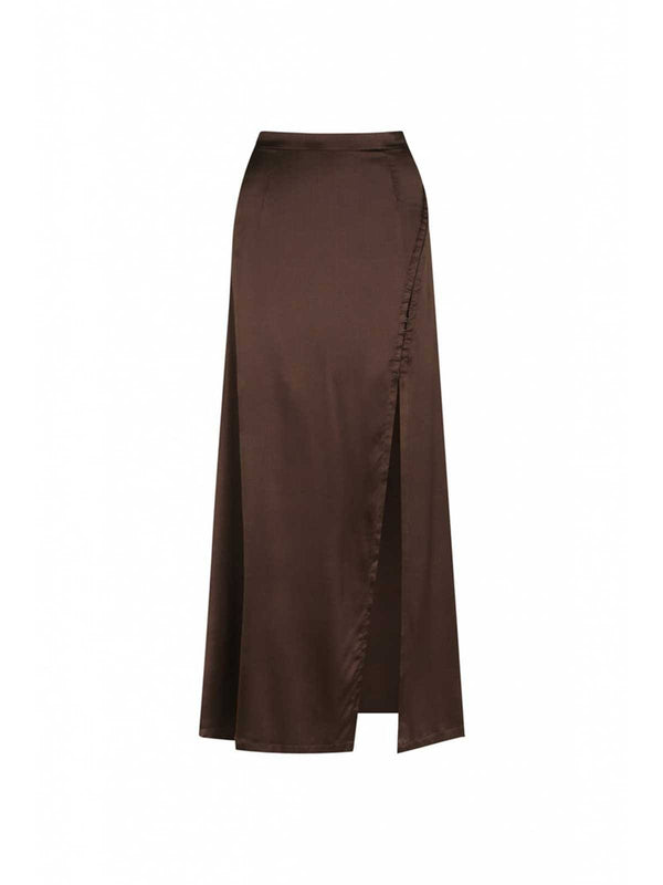 Mileshka Skirt - Chocolate Skirts Hansen and Gretel