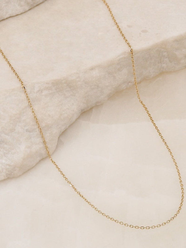 By Charlotte | 14K Gold Chain Necklace | Perlu
