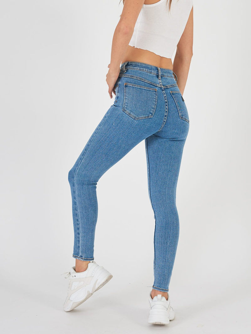 A High Skinny Ankle Basher - La Blues Jeans Abrand
