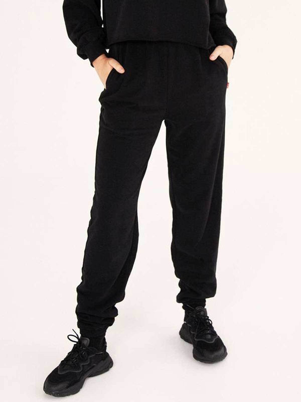High Waisted Pants - Black Pants BAYSE