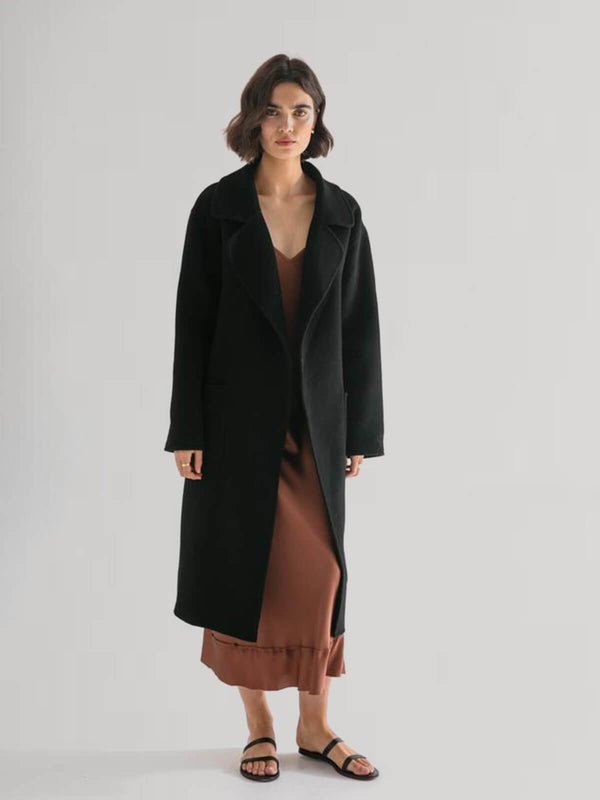 PRE-ORDER | The Matilda Coat - Black