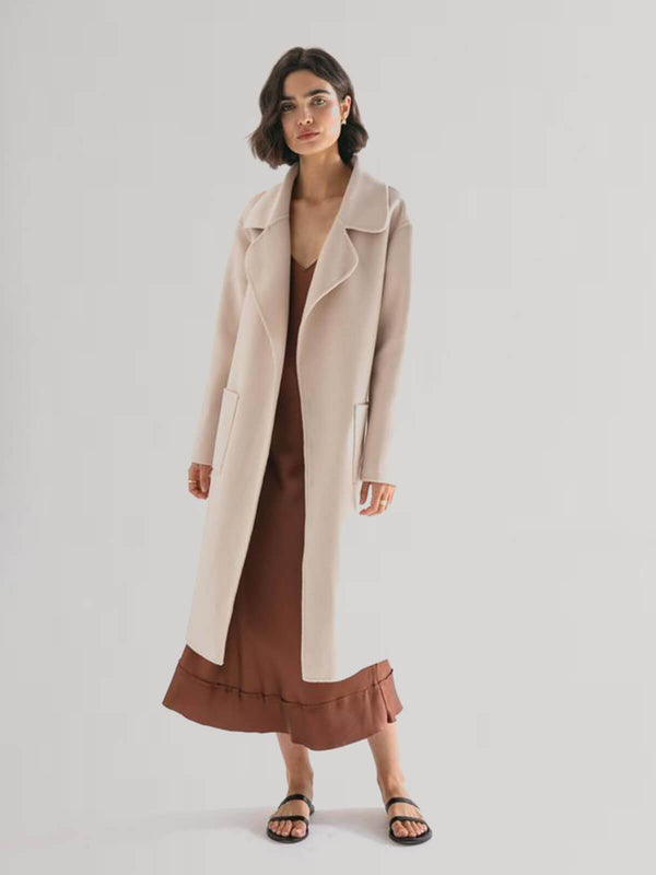 The Matilda Coat - Ecru