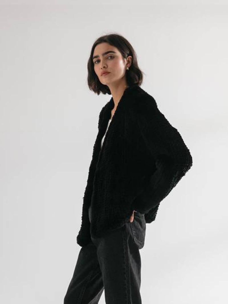 Friends With Frank | The Frank Jacket - Black | Perlu