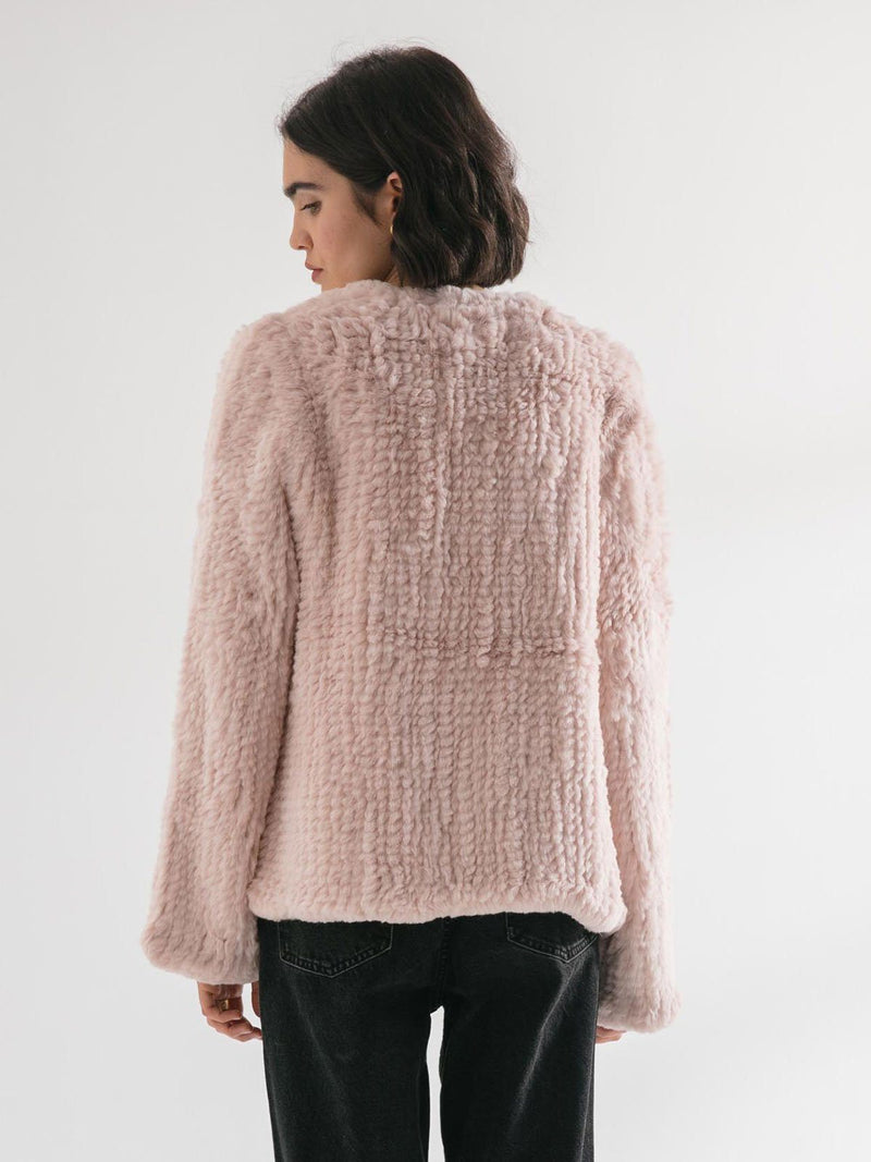 The Frank Jacket - Dusty Pink
