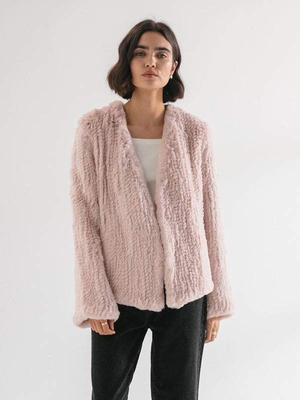 Friends with Frank | The Frank Jacket - Dusty Pink | Perlu