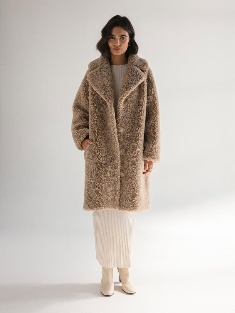 Friends With Frank | The Harriet Coat - Oatmeal | Perlu