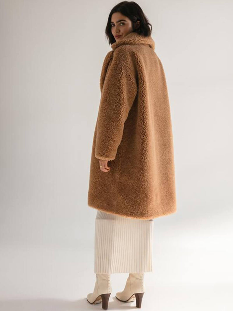 Friends With Frank | The Harriet Coat - Tan | Perlu