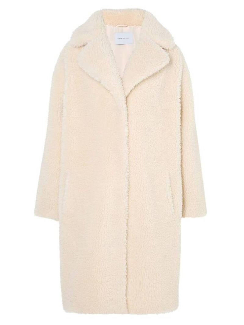 PRE-ORDER | The Harriet Coat - Winter White