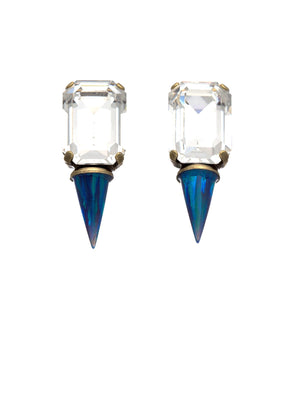 Gali earrings - blue