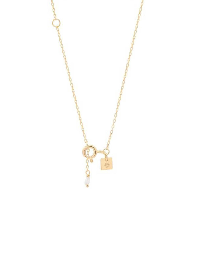 By Charlotte Gold Divine Goddess Necklace | Perlu
