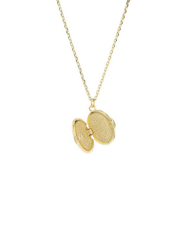 Esmee Locket - Gold Necklaces Jolie & Deen