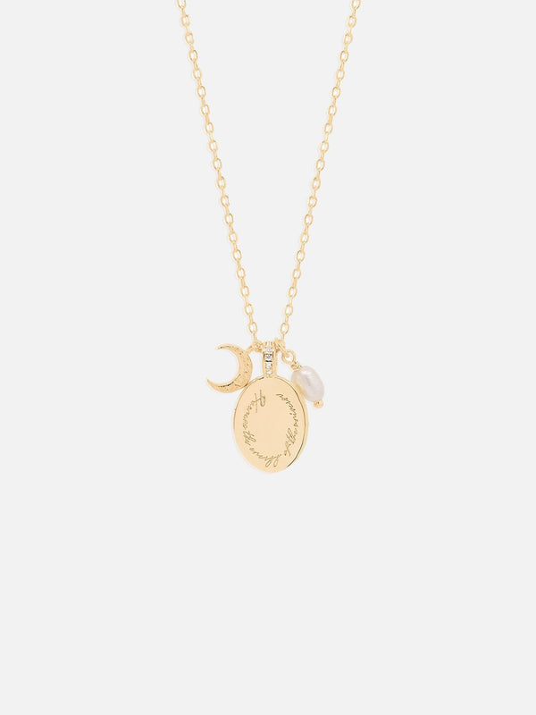 By Charlotte Dream Weaver Necklace Gold | Perlu