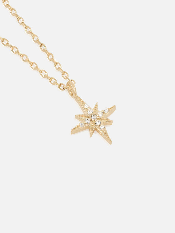 By Charlotte Starlight Necklace Gold | Perlu