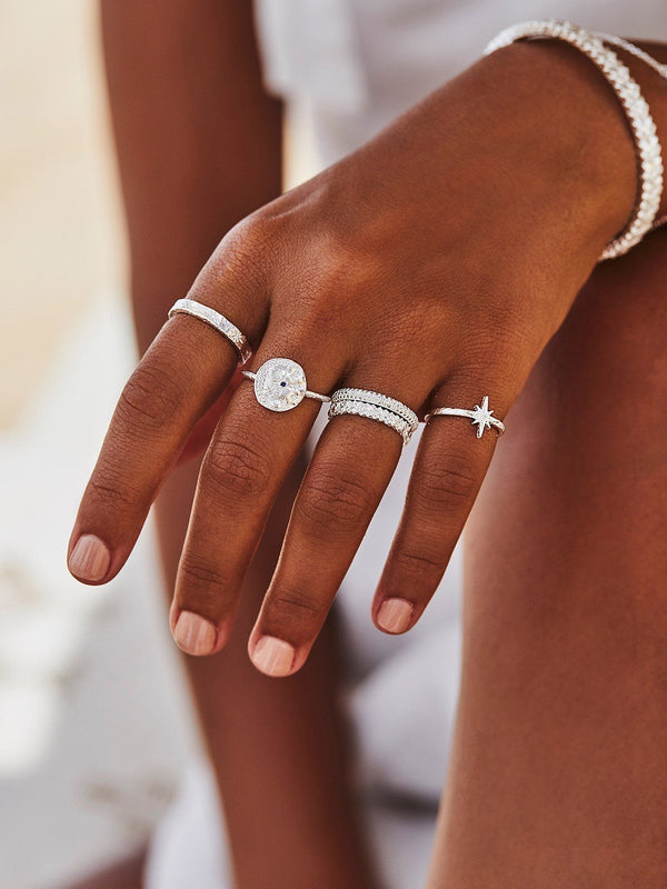 By Charlotte Starlight Ring Silver | Perlu