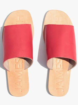 Off Duty Slide - Red Dolce