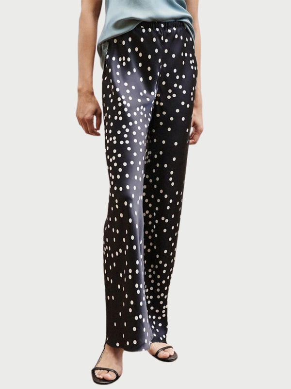 Bias Cut Pants - Broken Dot