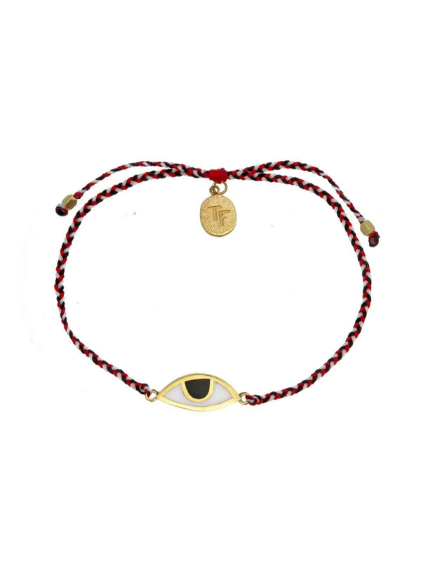 Woven Third Eye Bracelet | Gold - Tridatu