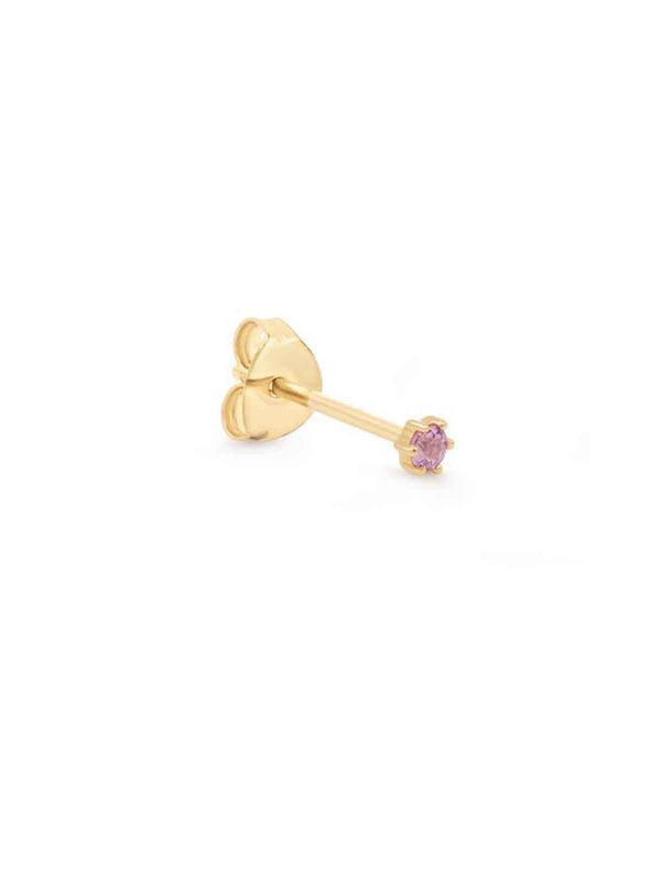 By Charlotte I 14k Gold Love Earrings I Perlu