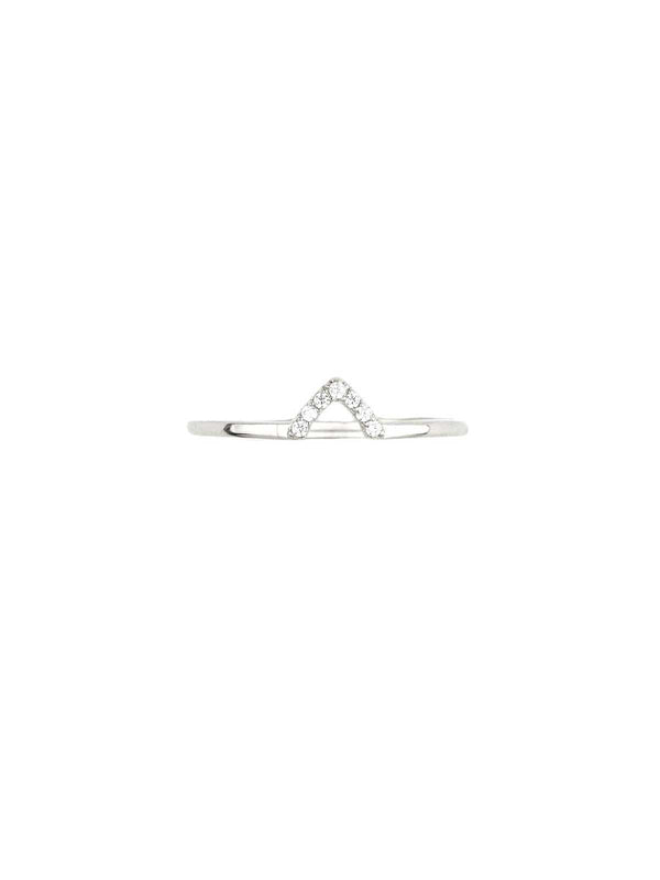 By Charlotte I Truth Ring Silver I Perlu