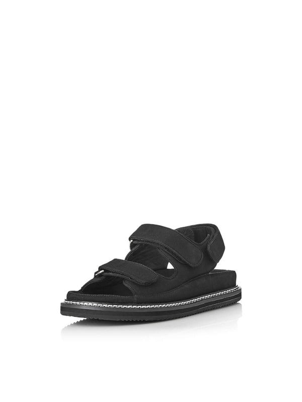 Pascale - Black Canvas Shoes Alias Mae