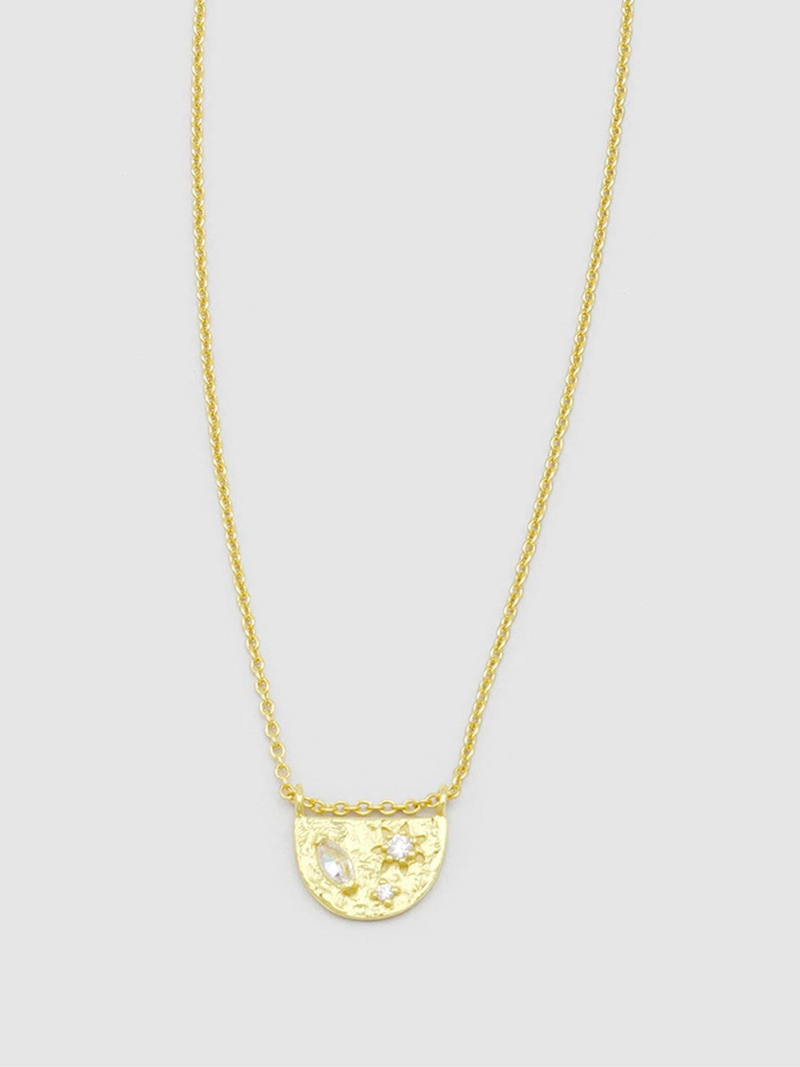 Jolie & Deen Asta Necklace - Gold | Perlu