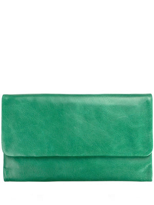 Status Anxiety | Audrey Wallet Emerald Green | Perlu
