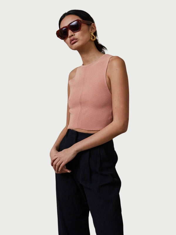 Bec + Bridge Eden Crop Top Blush | Perlu