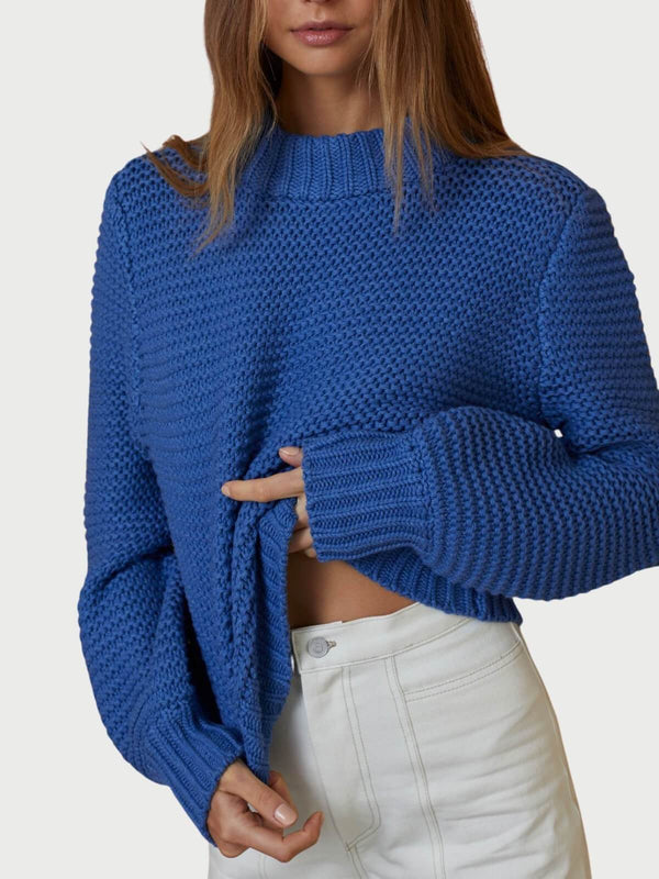 Elsa Knit Jumper - Indigo Jumpers & Cardigans Bec + Bridge