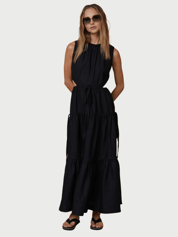 Henriette Maxi Dress - Black Dresses & Jumpsuits Bec + Bridge
