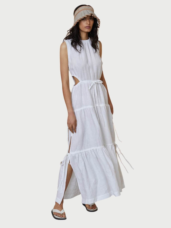 Bec + Bridge Henriette Maxi Dress Ivory | Perlu