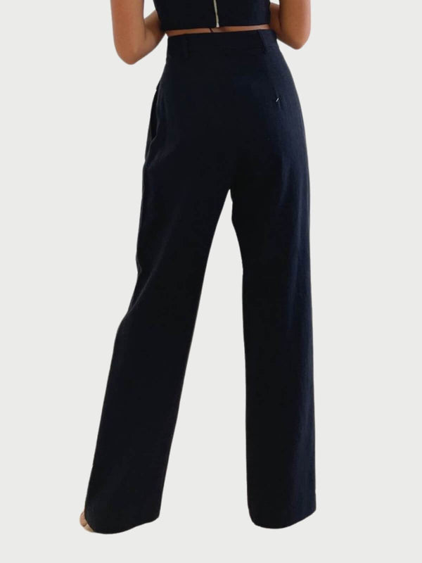 Bec + Bridge | Phoebe Pant - Black | Perlu