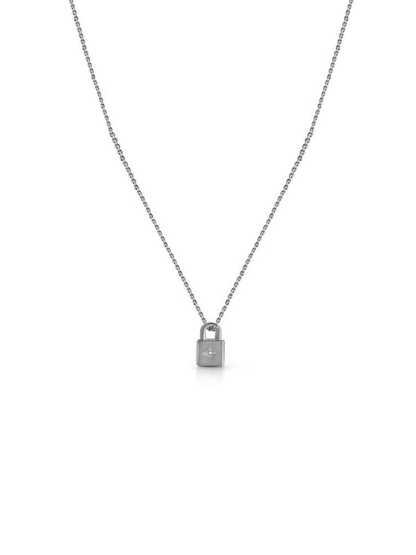 Lovers Lock, Padlock - Silver Necklaces BIANKO