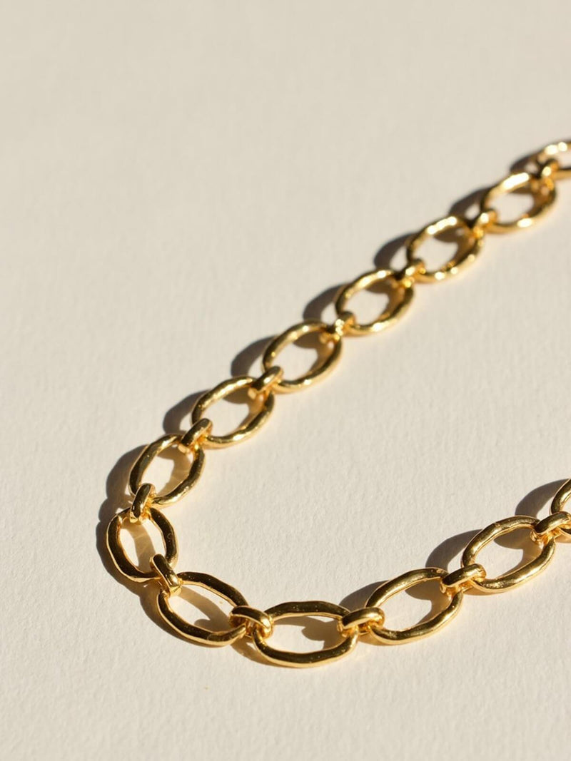 Link Chain Necklace - Gold Necklaces Brie Leon
