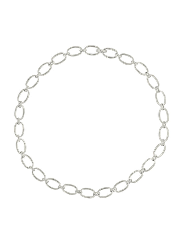 Brie Leon Link Chain Necklace Silver | Perlu