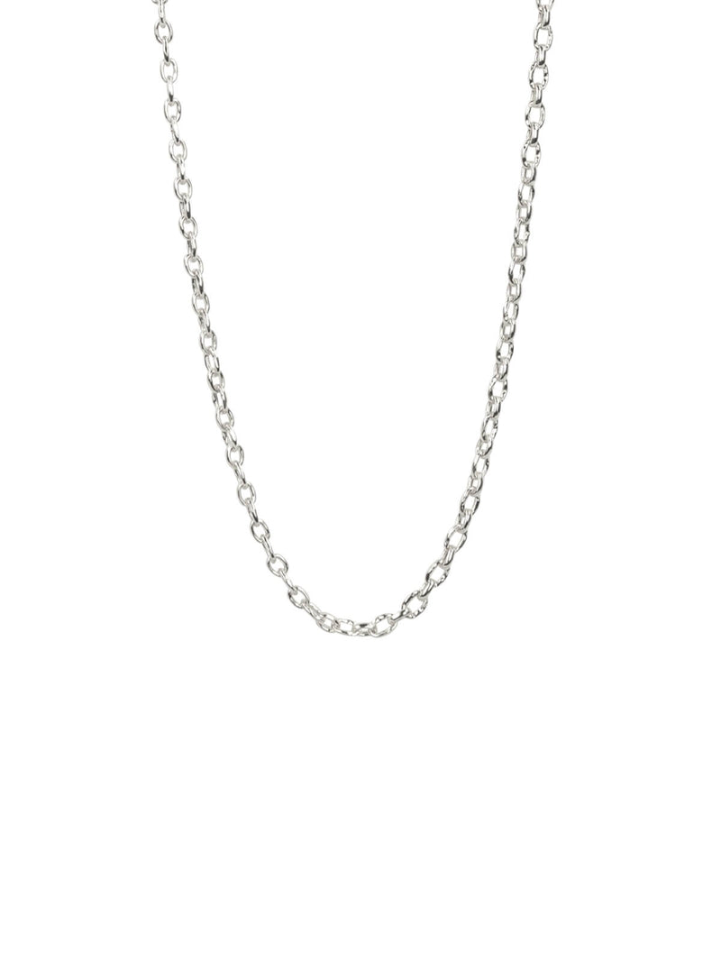 Brie Leon | Mini Link Chain Necklace - Silver | Perlu