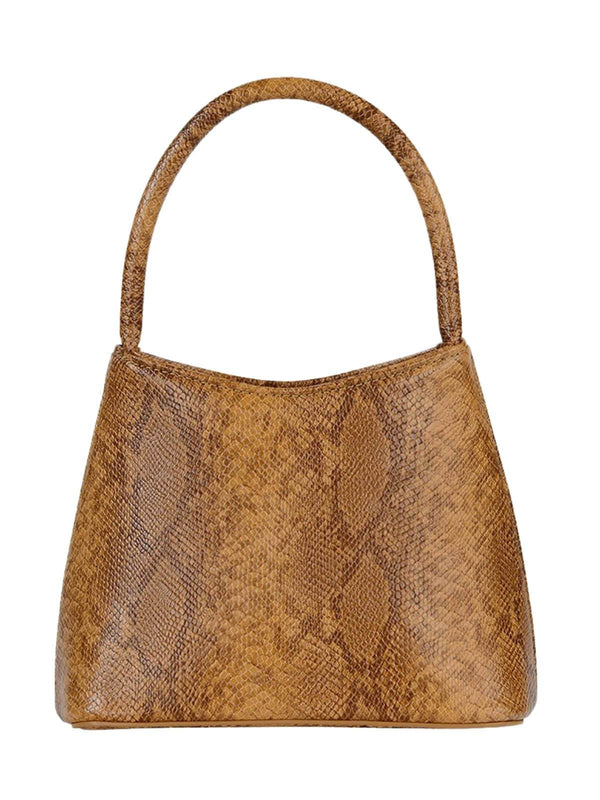 Brie Leon The Mini Chloe Bag Desert Snake Skin | Perlu