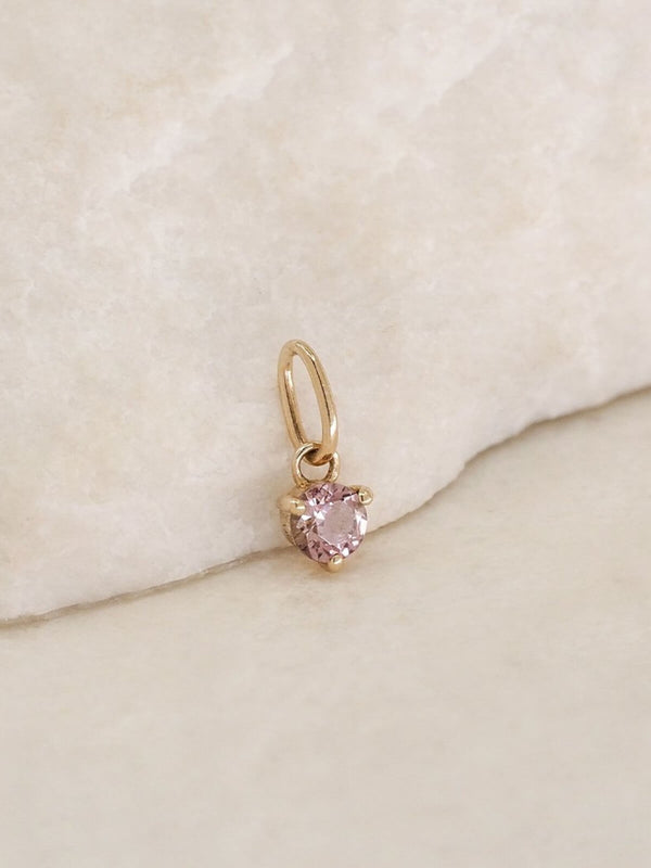 By Charlotte | 14K Gold October Birthstone Pendant | Perlu