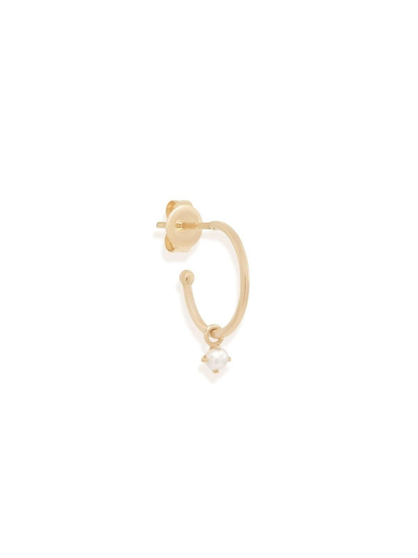 By Charlotte 14k Gold Tranquility Hoop Earring | Perlu