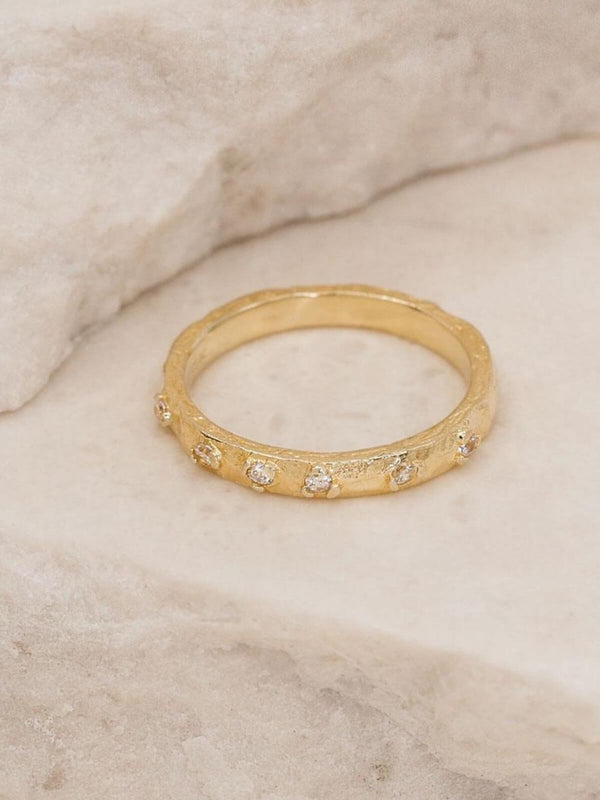 Enlightened Ring - Gold Rings By Charlotte