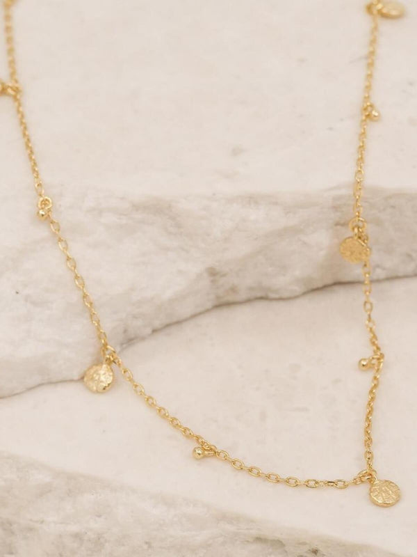 Guiding Light Choker - Gold Necklaces By Charlotte