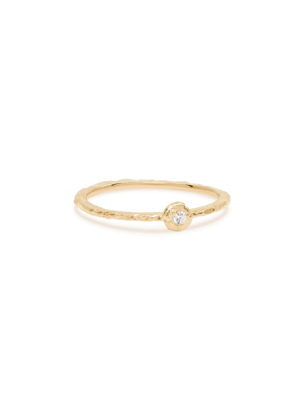 By Charlotte Guiding Light Ring Gold | Perlu