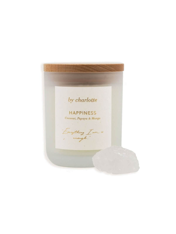 By Charlotte | Happiness Affirmation Candle - Coconut, Papaya & Mango