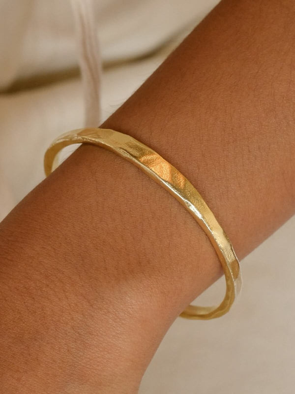 Harmony Cuff - Gold Accessories By Charlotte