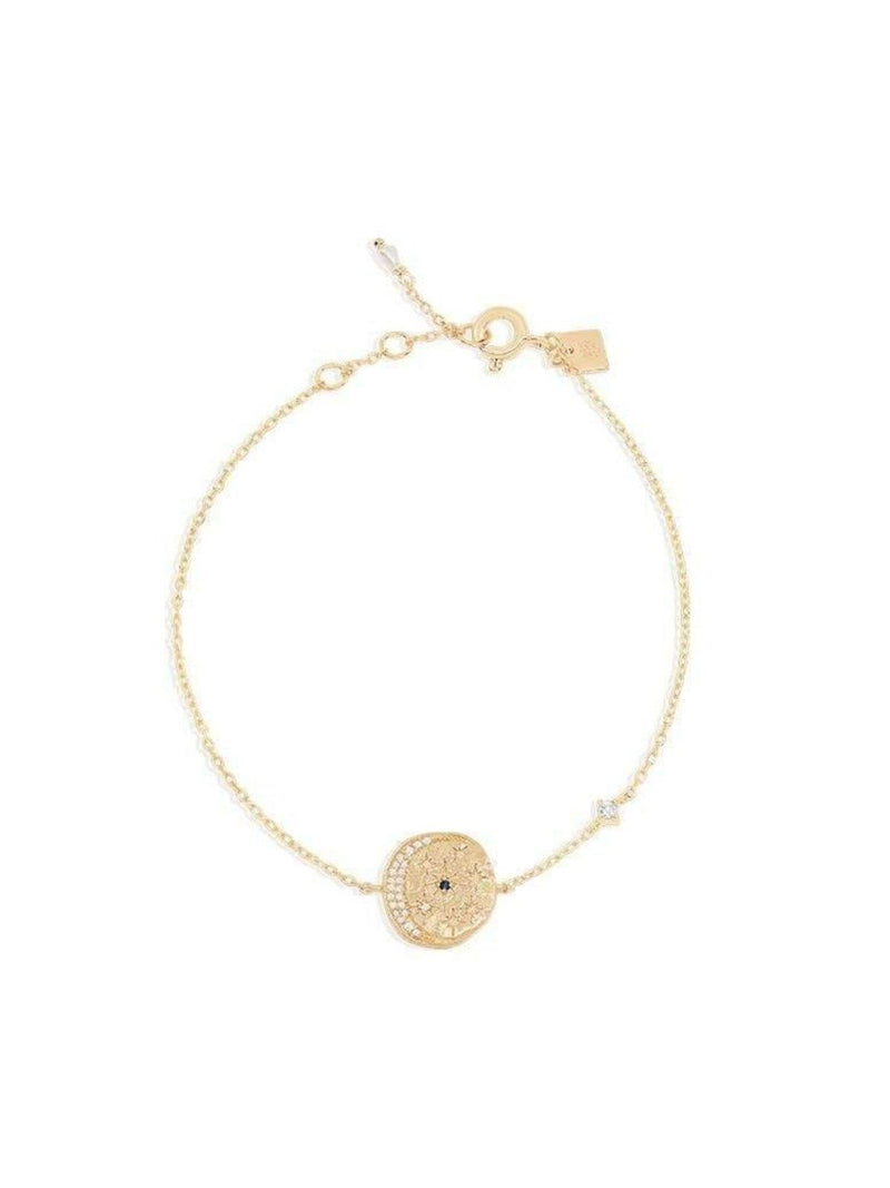 By Charlotte Heavenly Moonlight Bracelet - Gold | Perlu