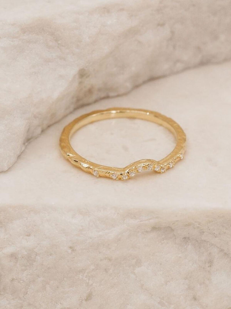 By Charlotte Journey Ring Gold | Perlu