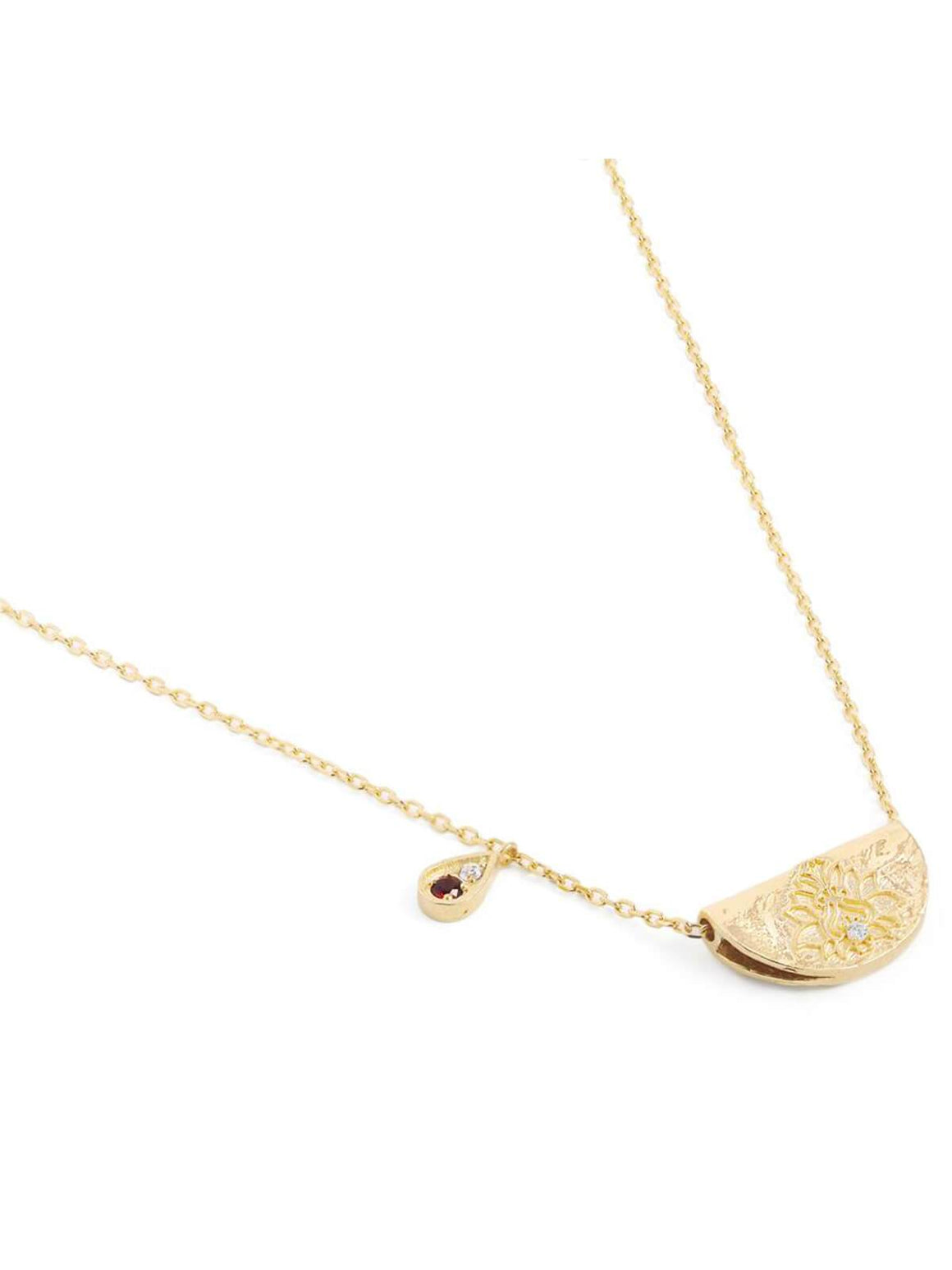 By Charlotte Love and Be Loved Necklace | Perlu