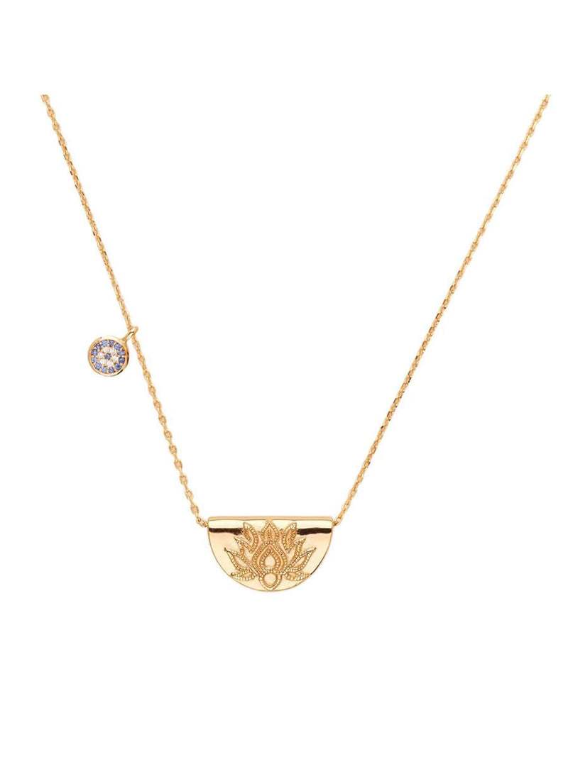 By Charlotte - Lucky Lotus Necklace | Perlu